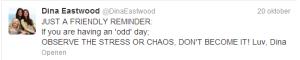 Tweet dina eastwood