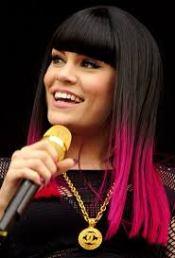 Jessy J pink ombre